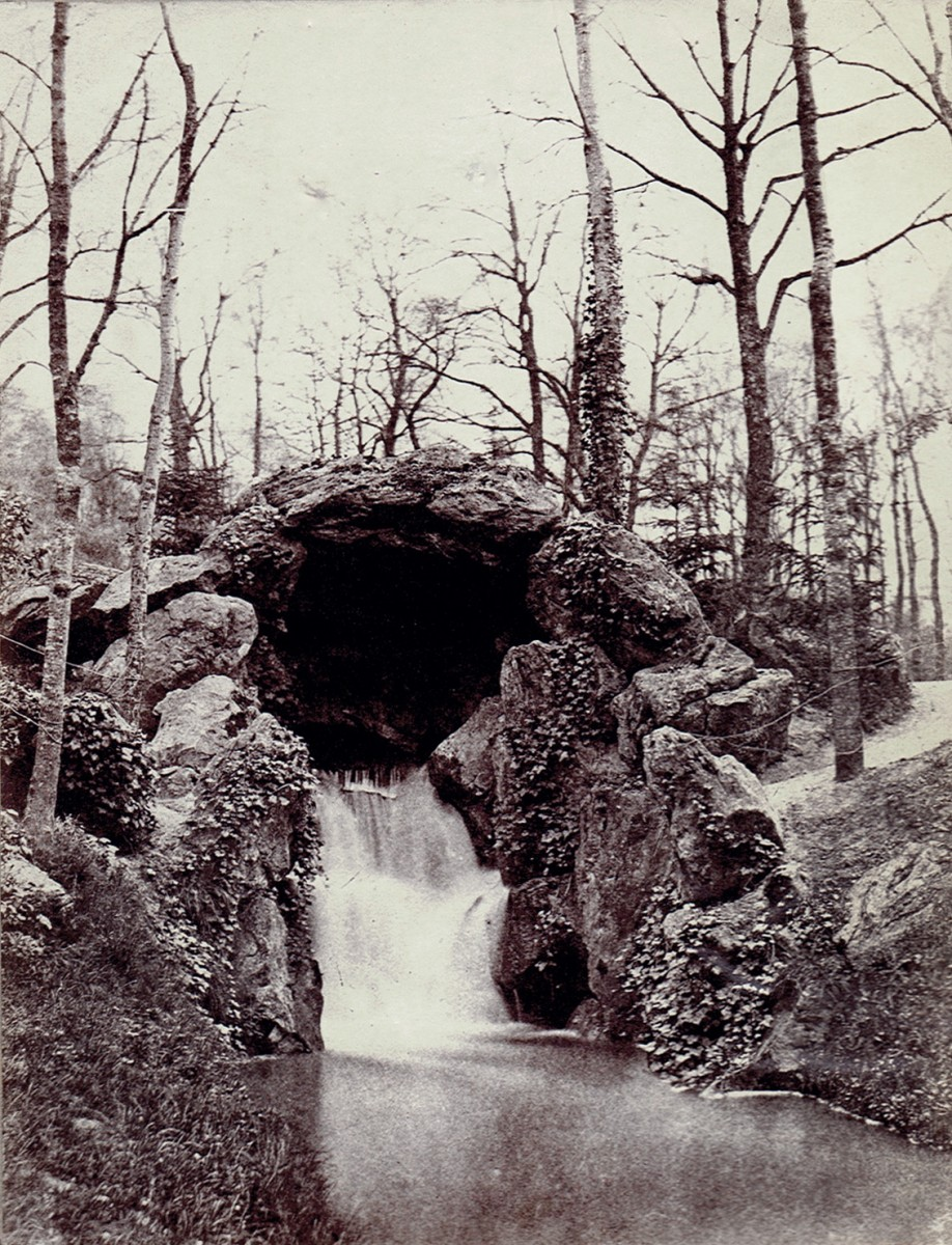 Cascade in the Bois de Boulogne