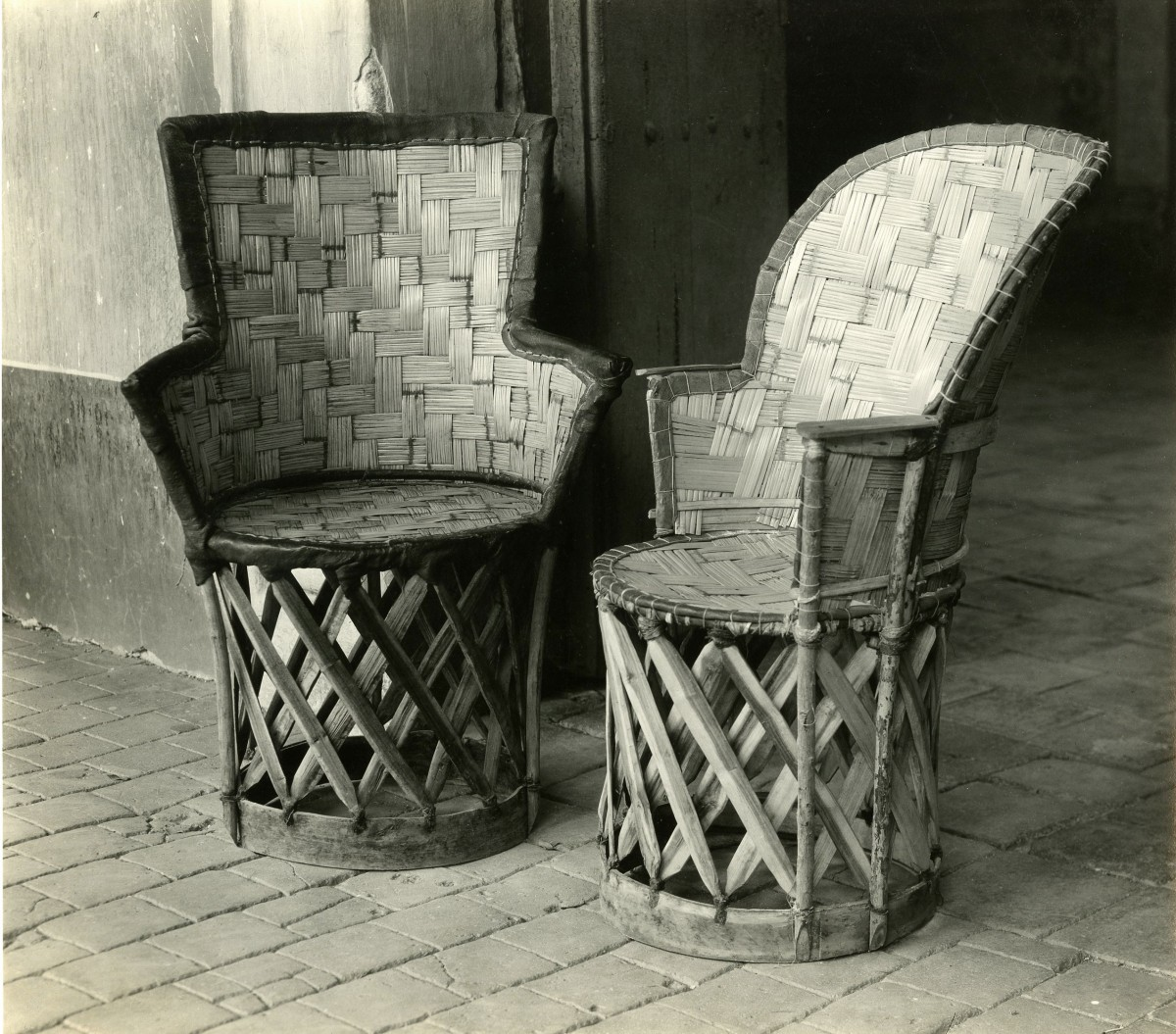 (Two Aztec Chairs)