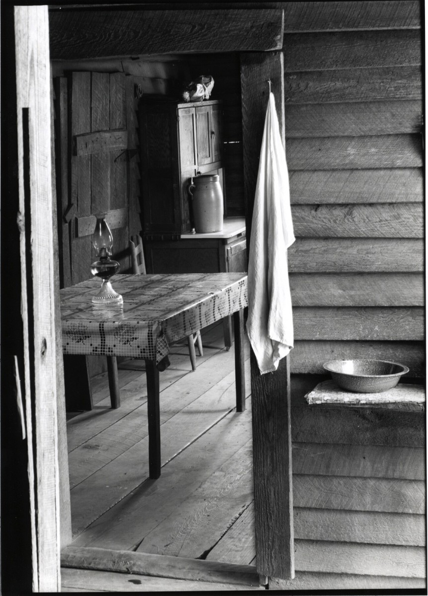 Washroom and Dining Area of Floyd Burroughs' Home