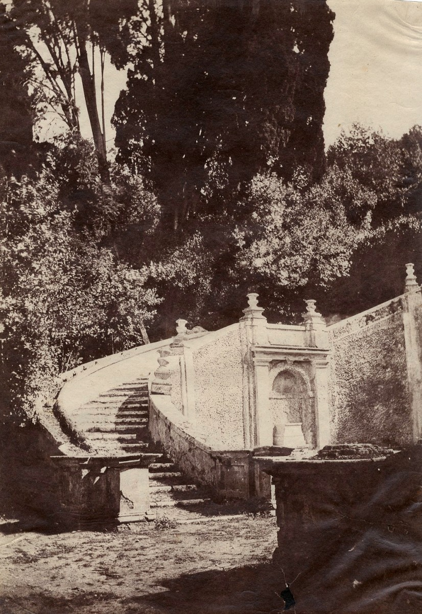 Stairway and Draghi Fountain, Villa d'Este, Tivoli