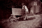 Male Peasant with Wheelbarrow